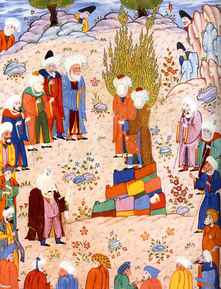Rulership And Justice Islamic Period John Woods Muhammad Designating Ali His First Successor At Ghadr Khum