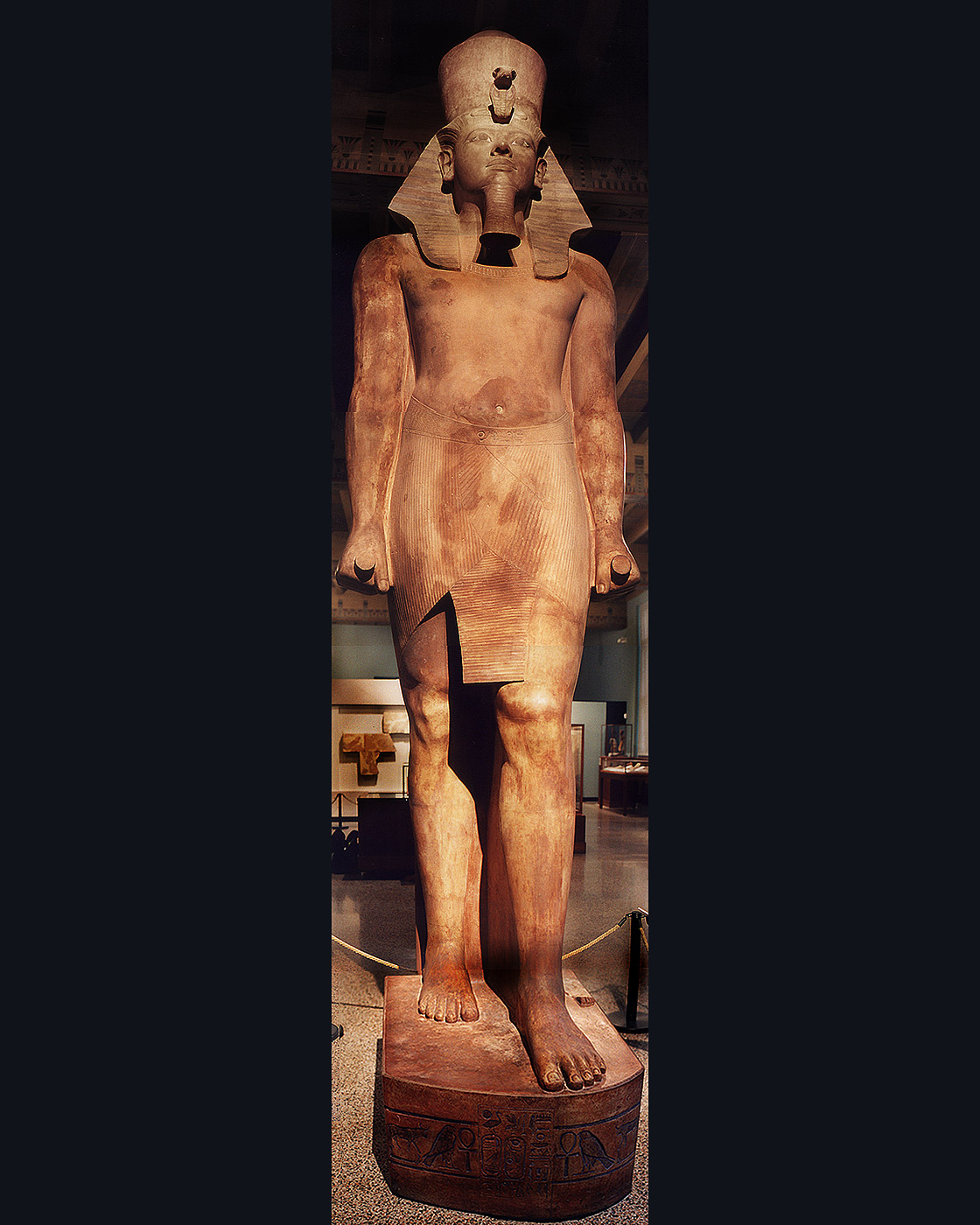 the question of identity before islam janet h johnson colossal statue of king tutankhamun