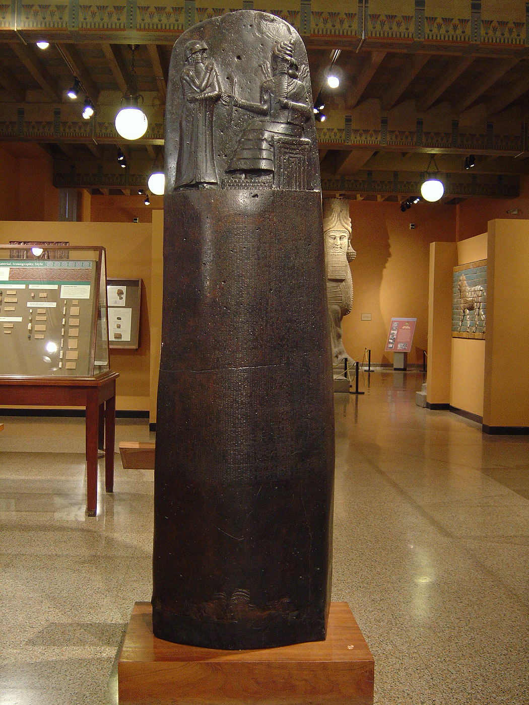 The Law Code of HammurabiStele With Law Code Of Hammurabi