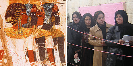 """middle east before the advent of islam Long before the arabic false prophet muhammad was born, the name allah was used by both jews and arab christians to refer to the one true god the names """"allah"""" and """"god"""" are generally interchangeable in middle eastern cultures and within the muslim religion."""